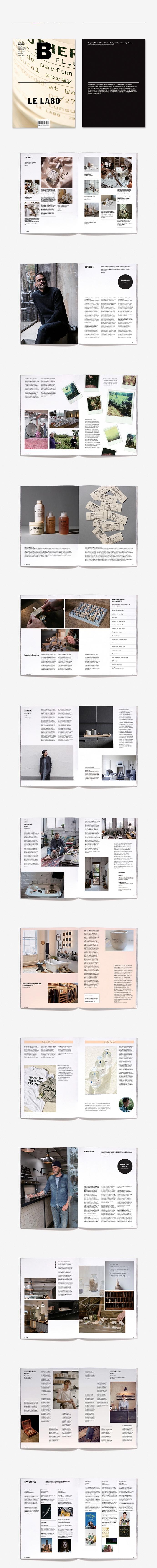 매거진 B(Magazine B) No.65: Le Labo(한글판) 도서 상세이미지
