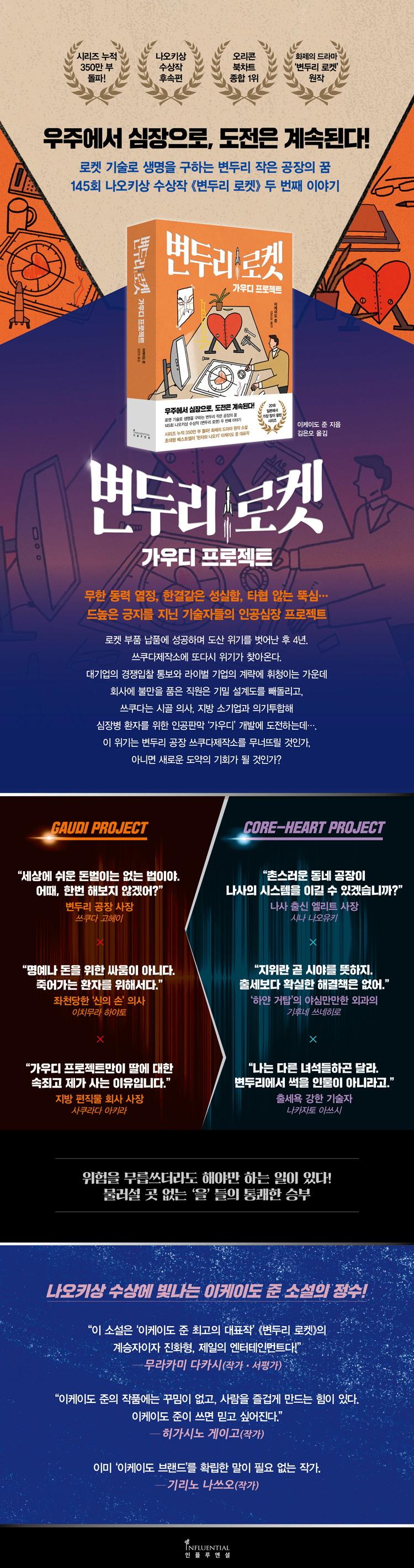 변두리 로켓: 가우디 프로젝트 도서 상세이미지