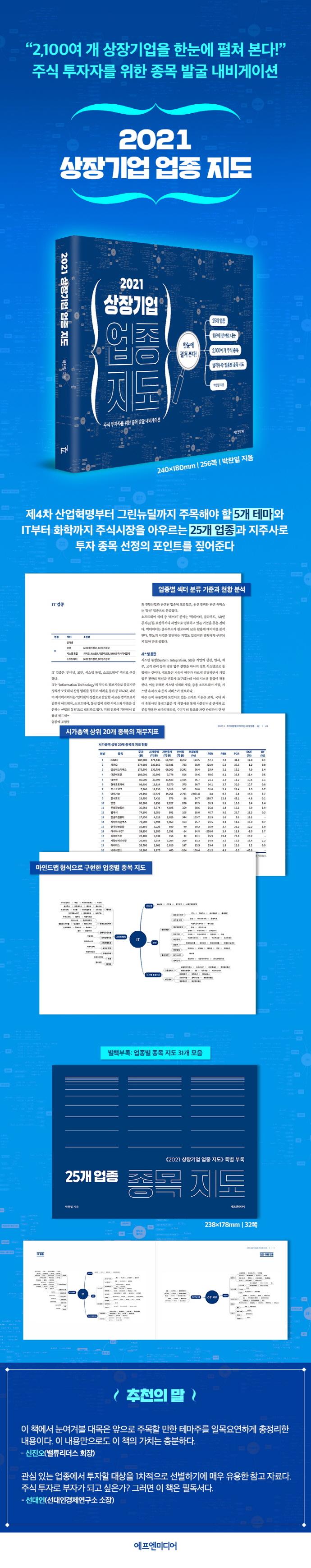 상장기업 업종 지도(2021) 도서 상세이미지
