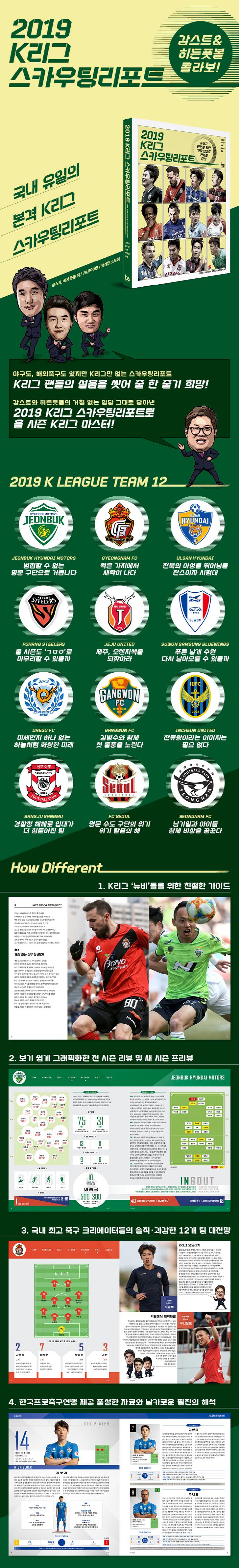 K리그 스카우팅리포트(2019) 도서 상세이미지