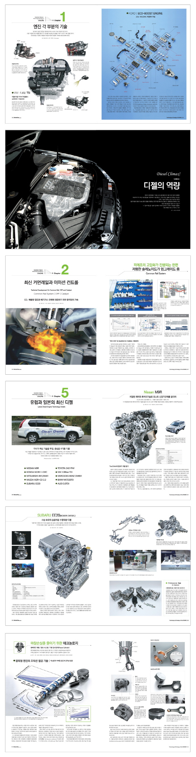가솔린 디젤 엔진의 기술과 전략(Motor Fan illustrated 6) 도서 상세이미지