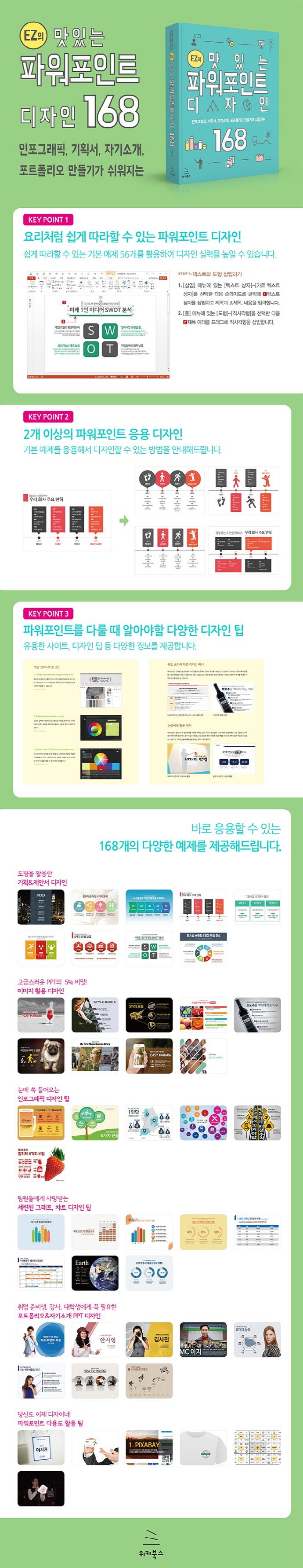 EZ의 맛있는 파워포인트 디자인 168(CD1장포함) 도서 상세이미지