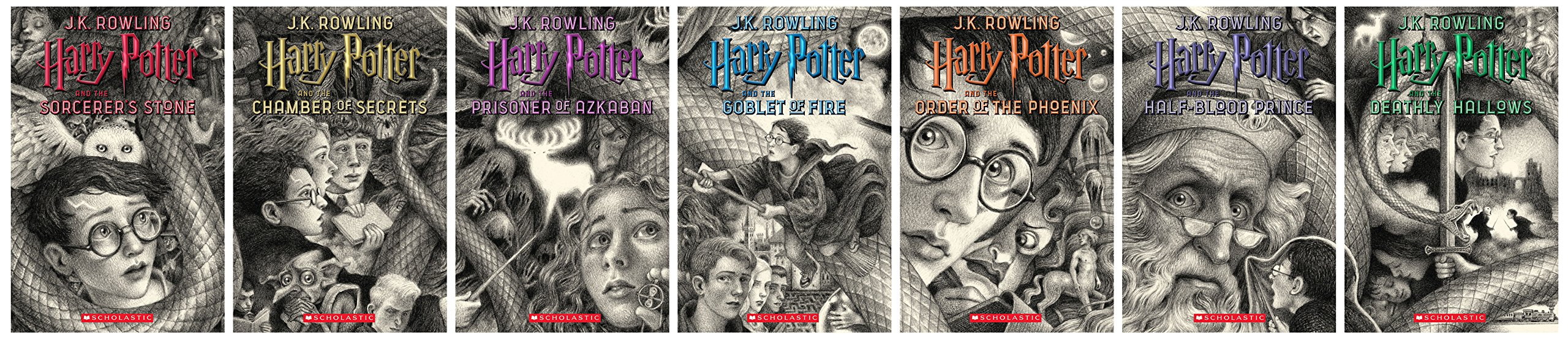 Harry Potter Books 1-7 Special Edition Boxed Set 도서 상세이미지