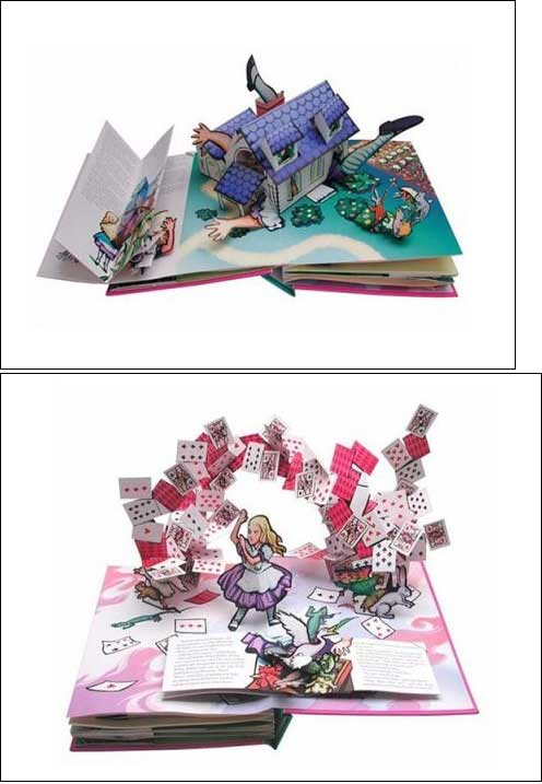 Alice's Adventures in Wonderland (Pop-Up) 도서 상세이미지