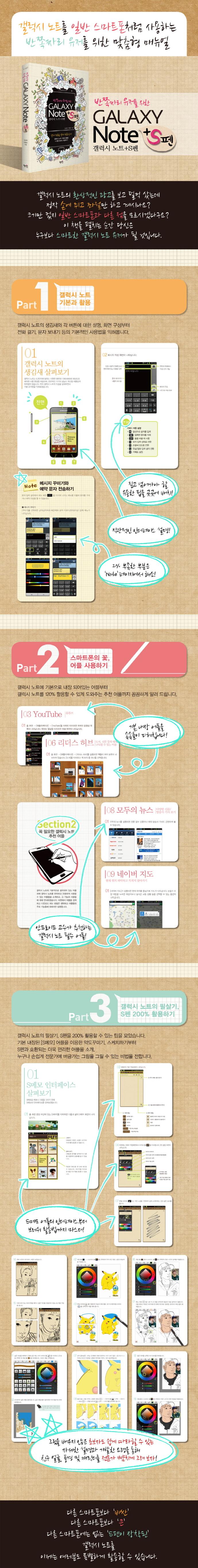 Galaxy Note+S펜(반쪽짜리 유저를 위한) 도서 상세이미지