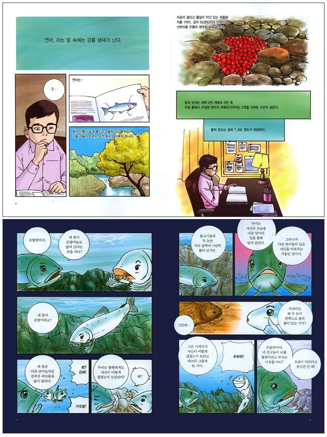 만화로 읽는 연어 도서 상세이미지