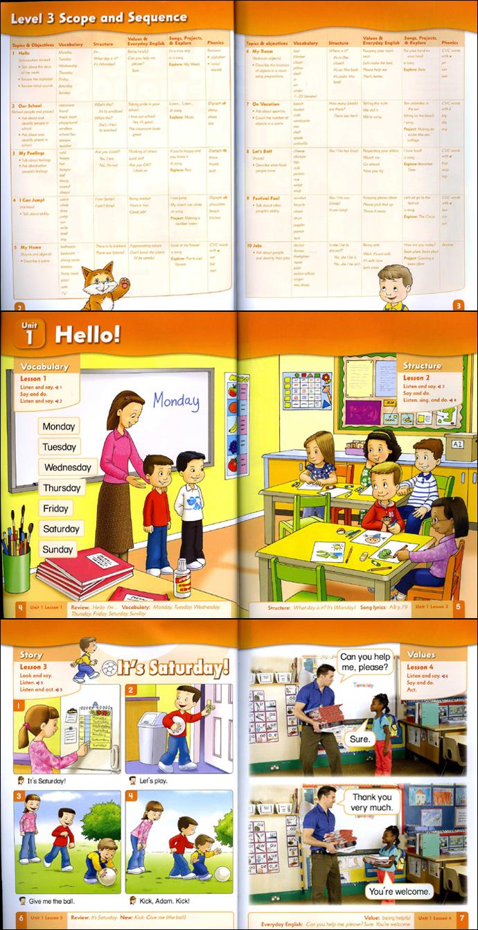 First Friends.3(StudentBook)(CD1장 포함) 도서 상세이미지
