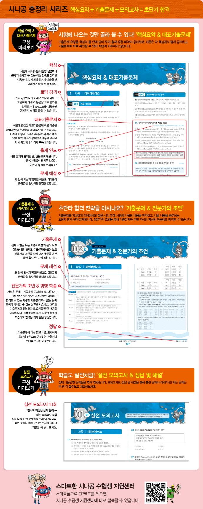 정보처리기사 필기(8절)(2018)(시나공 총정리) 도서 상세이미지