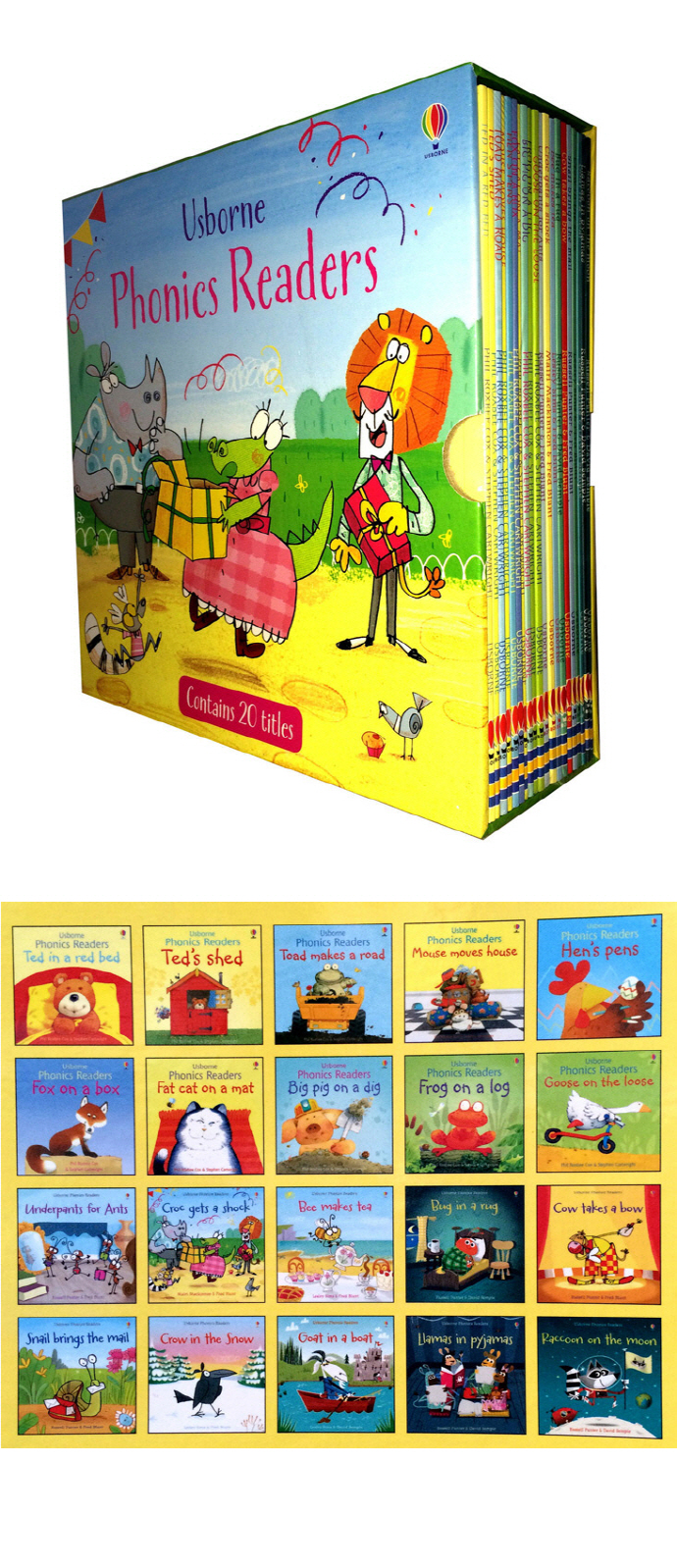 Phonics Readers BOXset 도서 상세이미지