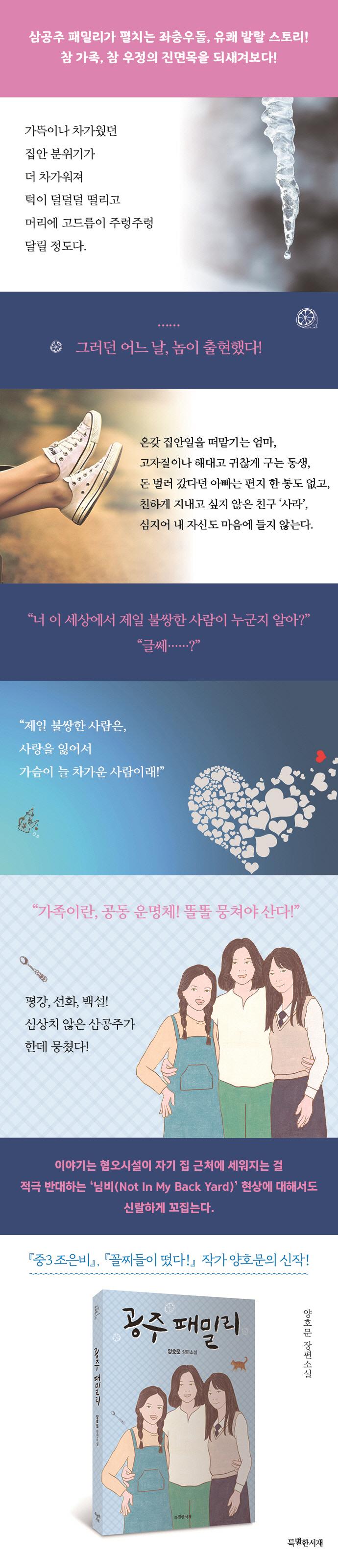공주 패밀리(특서 청소년문학 9) 도서 상세이미지