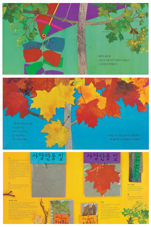 빨간 잎 노란 잎(곧은나무 그림책 41)(양장본 HardCover) 도서 상세이미지