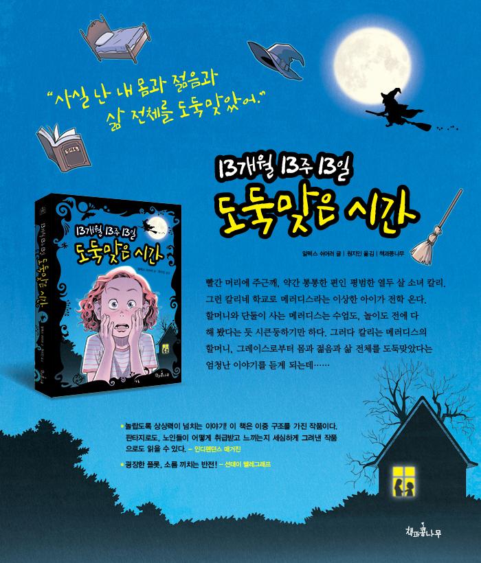 13개월 13주 13일 도둑맞은 시간(독깨비 1) 도서 상세이미지
