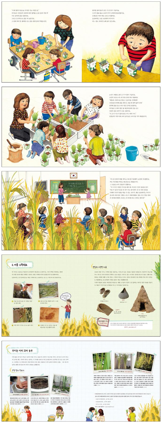우리 교실에 벼가 자라요(자연과 함께하는 살림생태학습 4)(양장본 HardCover) 도서 상세이미지