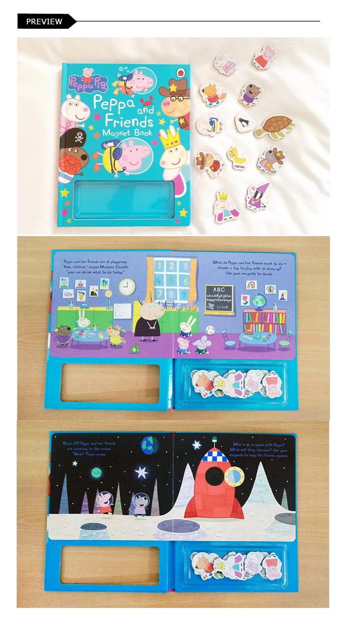 Peppa Pig: Peppa and Friends Magnet Book 도서 상세이미지