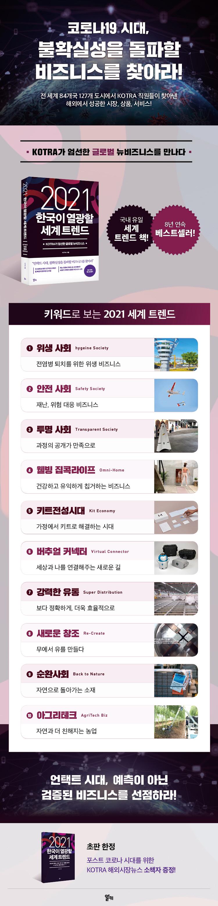 한국이 열광할 세계 트렌드(2021) 도서 상세이미지