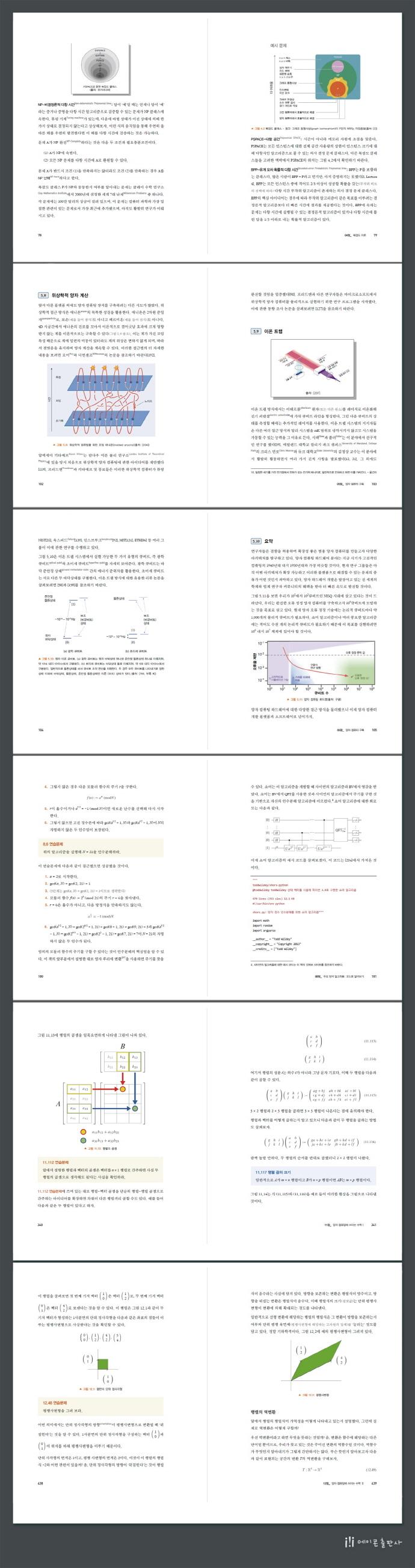 양자 컴퓨팅: 이론에서 응용까지(데이터 과학) 도서 상세이미지