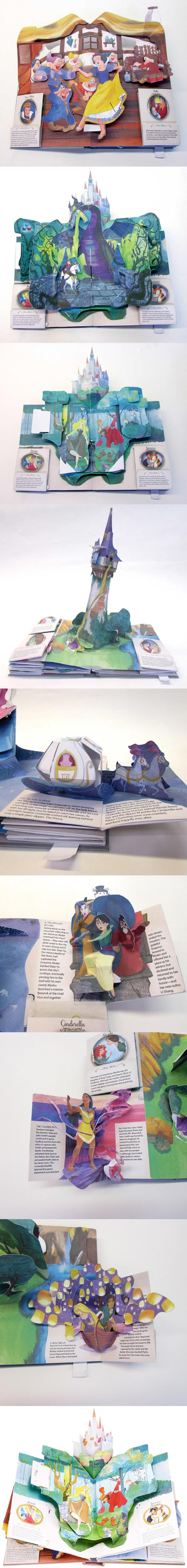 Disney Princess: A Magical Pop-Up World 도서 상세이미지