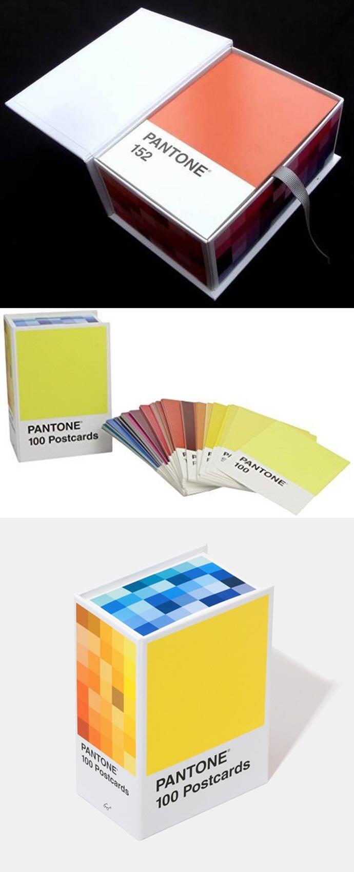 Pantone Postcard Box (팬톤 엽서 박스) 도서 상세이미지