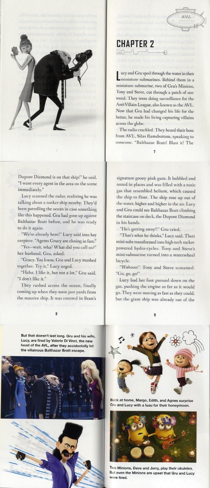 Despicable Me 3: The Junior Novel 도서 상세이미지