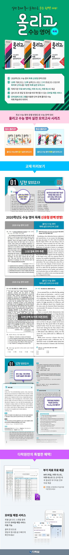 고등 수능 영어 독해 실전 모의고사 15회(완성)(2020)(올리고) 도서 상세이미지