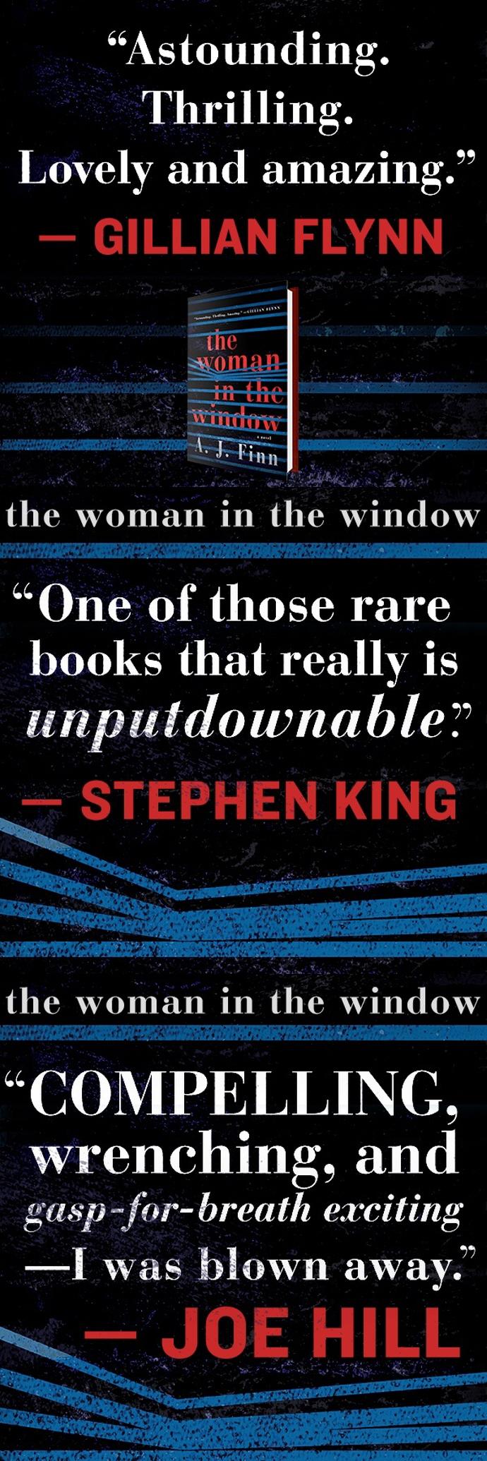The Woman in the Window[Paperback] 도서 상세이미지