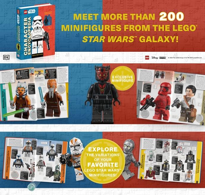 Lego Star Wars Character Encyclopedia New Edition 도서 상세이미지