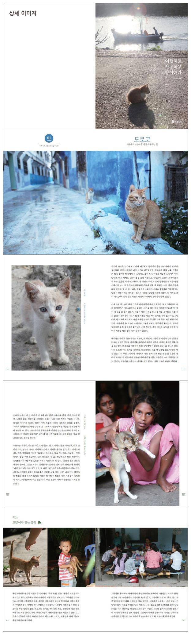 여행하고 사랑하고 고양이 하라 도서 상세이미지