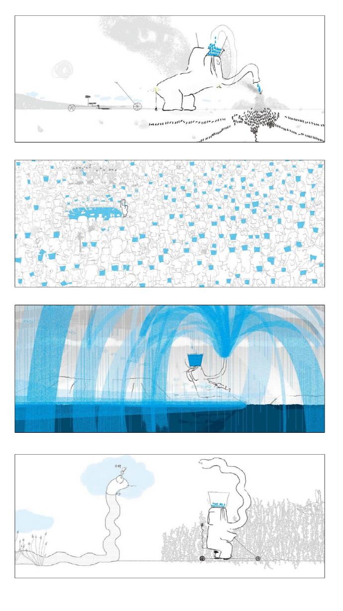 코끼리 아저씨와 100개의 물방울(양장본 HardCover) 도서 상세이미지