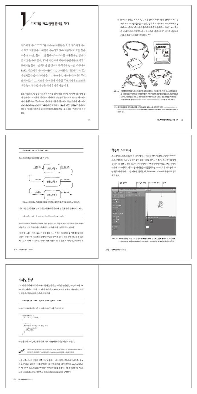 라즈베리 파이 시작하기(제이펍의 로봇 시리즈 2)(반양장) 도서 상세이미지