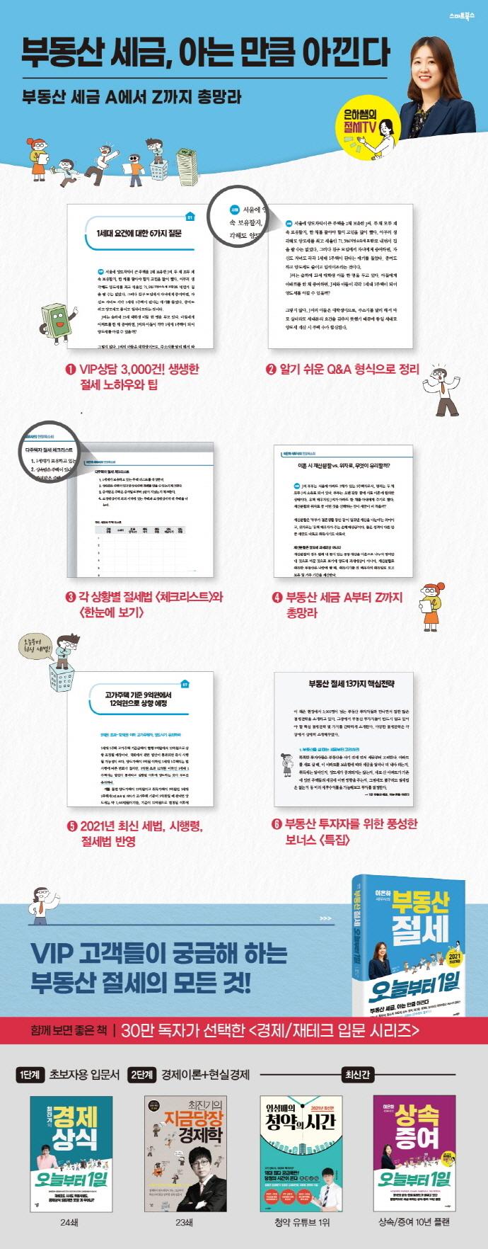 이은하 세무사의 부동산 절세 오늘부터 1일(개정판) 도서 상세이미지