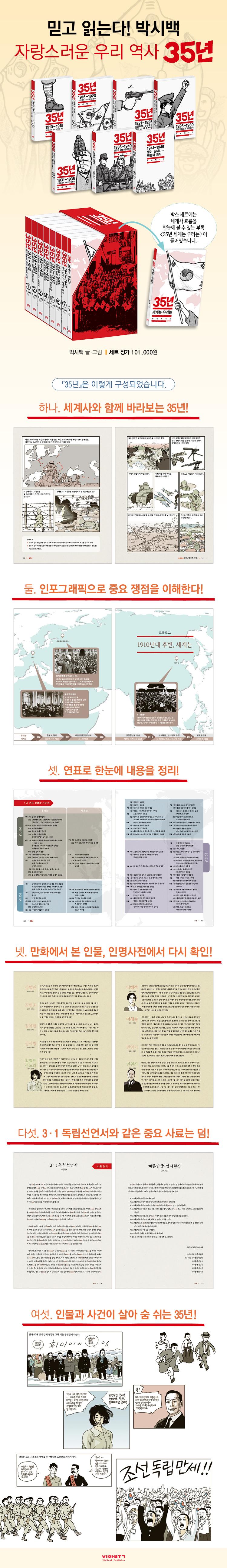 35년. 1: 1910-1915 무단통치와 함께 시작된 저항 도서 상세이미지