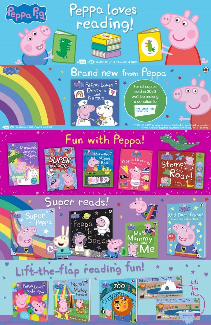 Peppa Pig: 1000 First Words Sticker Book 도서 상세이미지