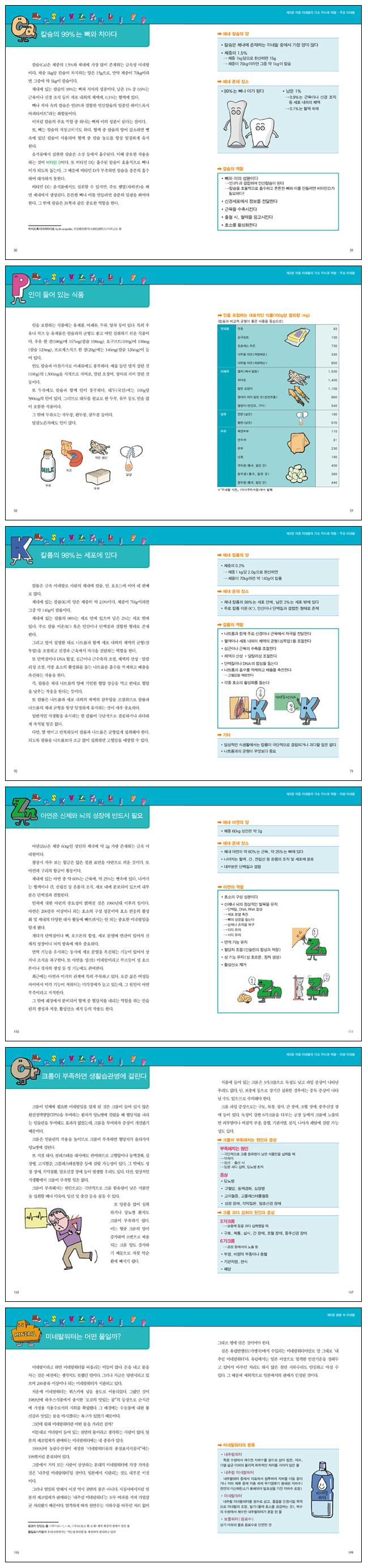 미네랄 백과사전(내 몸을 살리는)(사이언스 WHY 시리즈) 도서 상세이미지