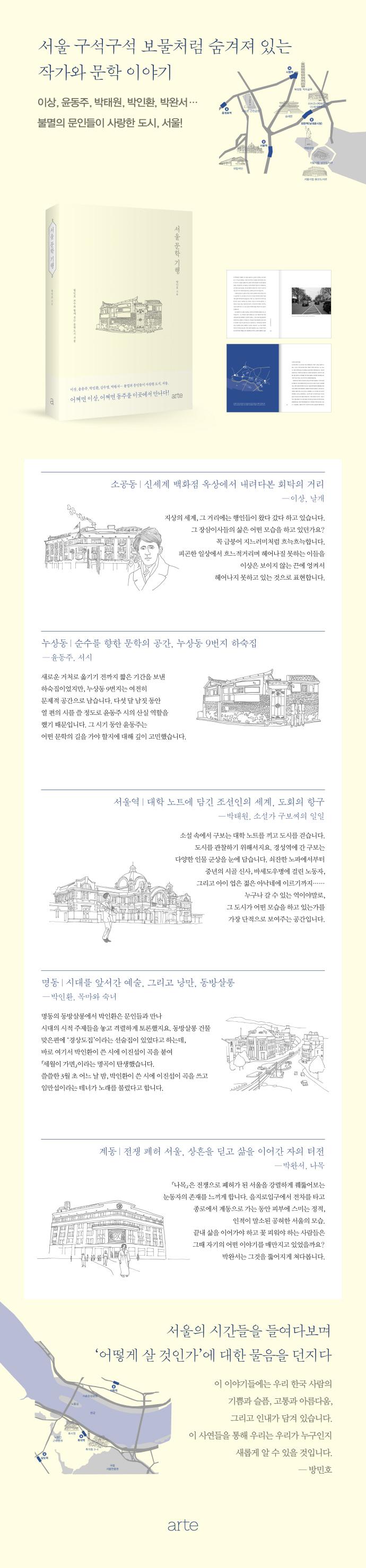 서울 문학 기행 도서 상세이미지
