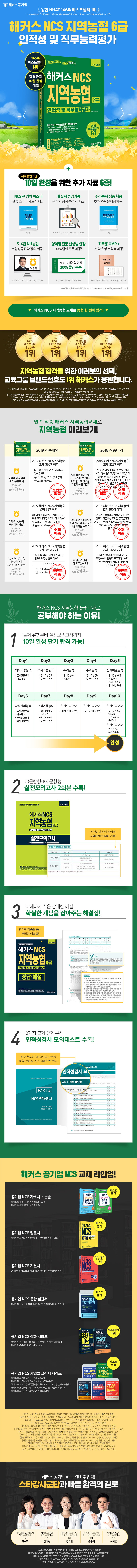 NCS 지역농협 6급 인적성 및 직무능력평가(해커스) 도서 상세이미지