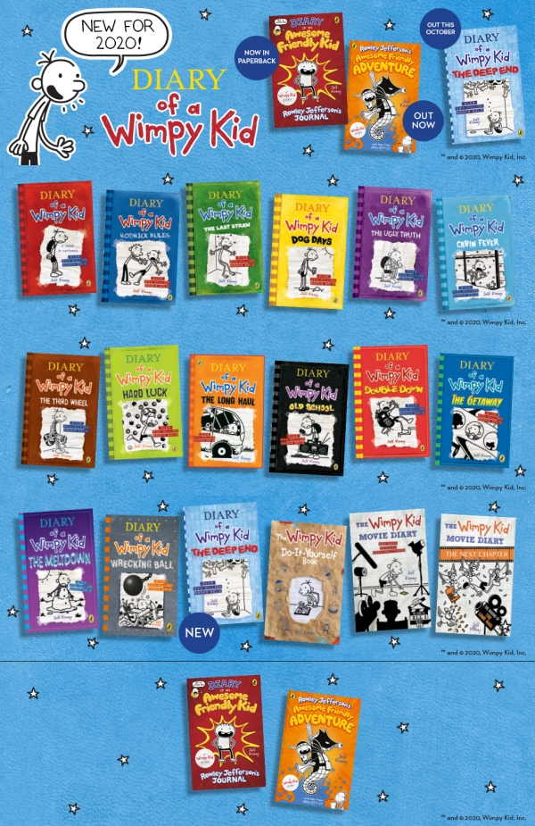 Diary of a Wimpy Kid #15 : The Deep End 도서 상세이미지