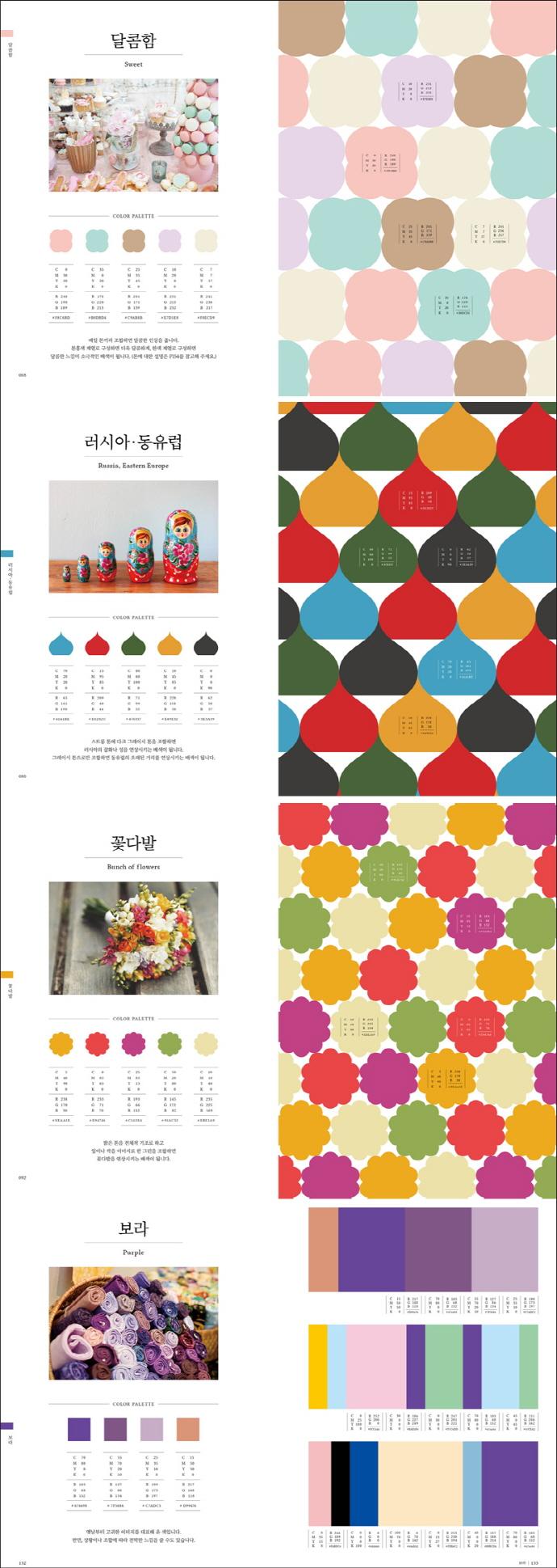 배색 패턴북(여성의 마음을 사로잡는) 도서 상세이미지