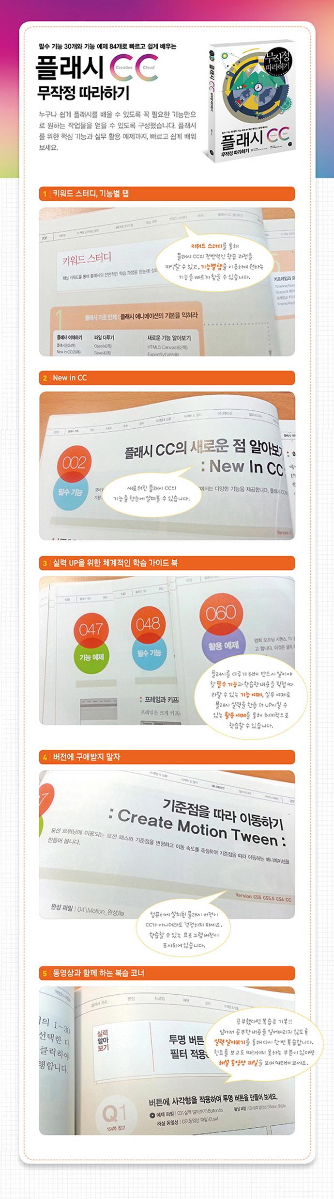 플래시 CC 무작정따라하기(CD1장포함) 도서 상세이미지
