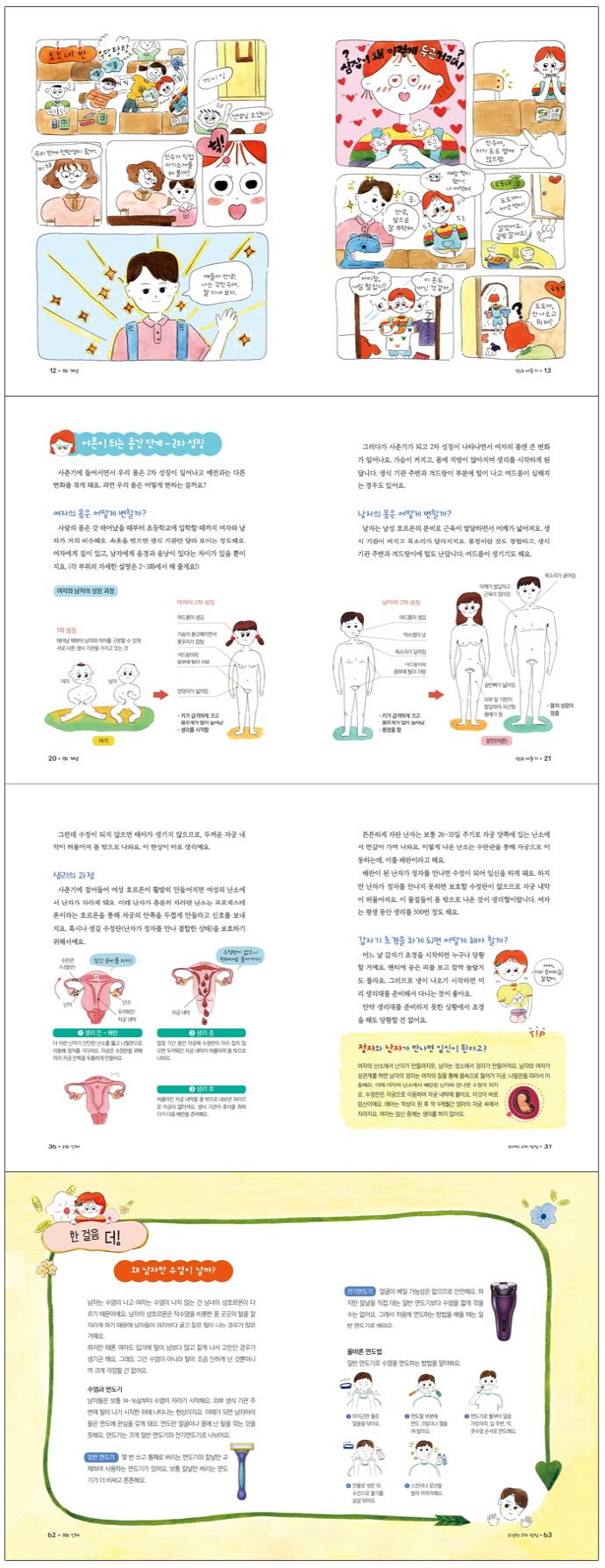 성과 사춘기(참 잘했어요 과학 17) 도서 상세이미지