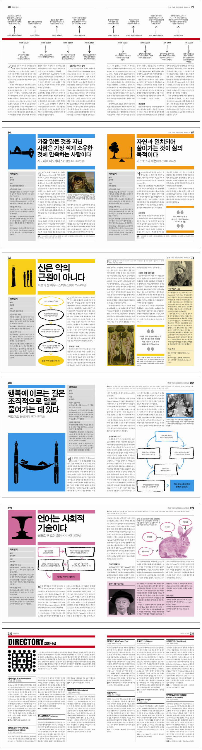 철학의 책(양장본 HardCover) 도서 상세이미지