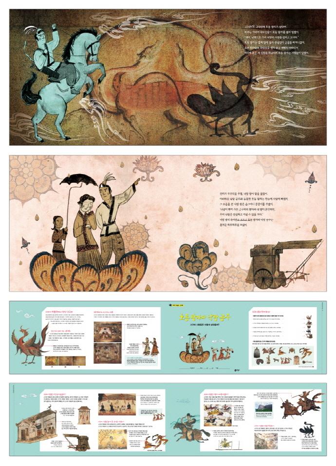 호동 왕자와 낙랑 공주(이야기 박물관 고구려)(양장본 HardCover) 도서 상세이미지
