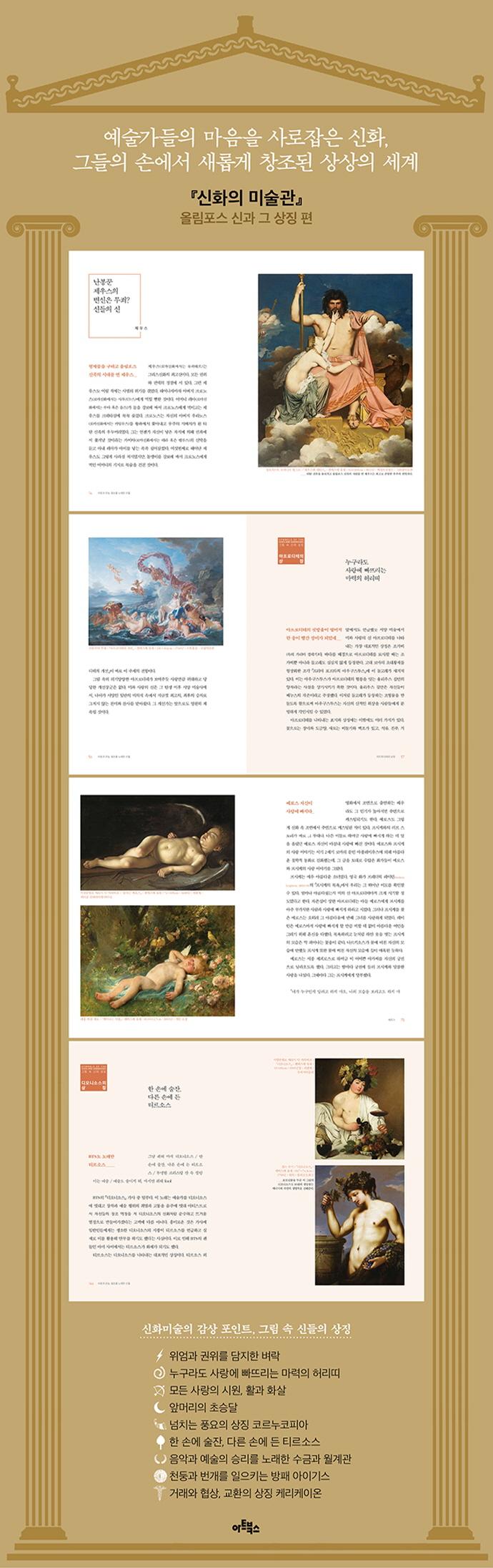 신화의 미술관: 올림포스 신과 그 상징 편 도서 상세이미지