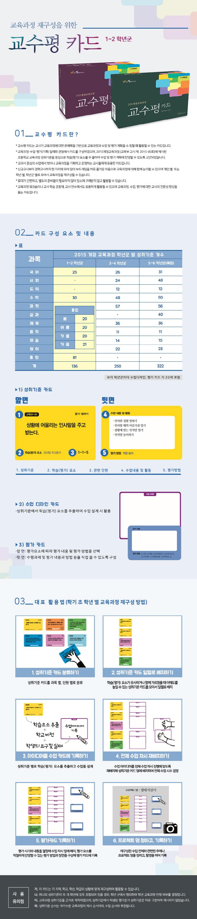 교수평 카드(1~2학년군) 도서 상세이미지