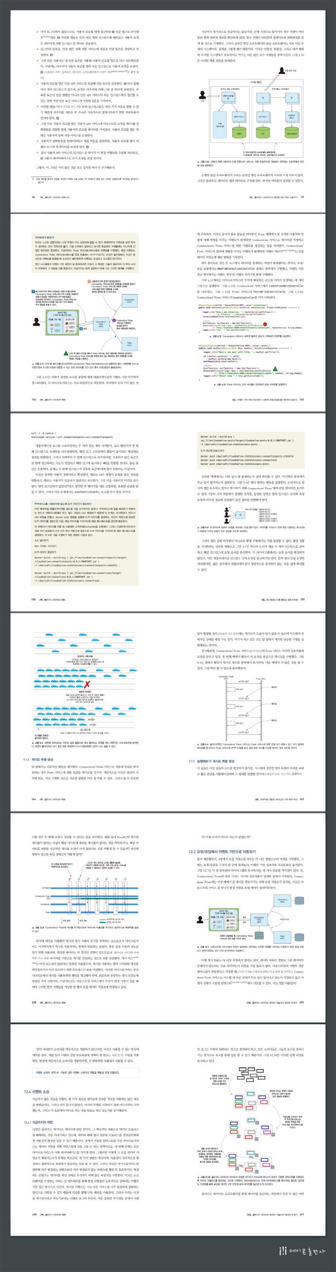 클라우드 네이티브 패턴 도서 상세이미지