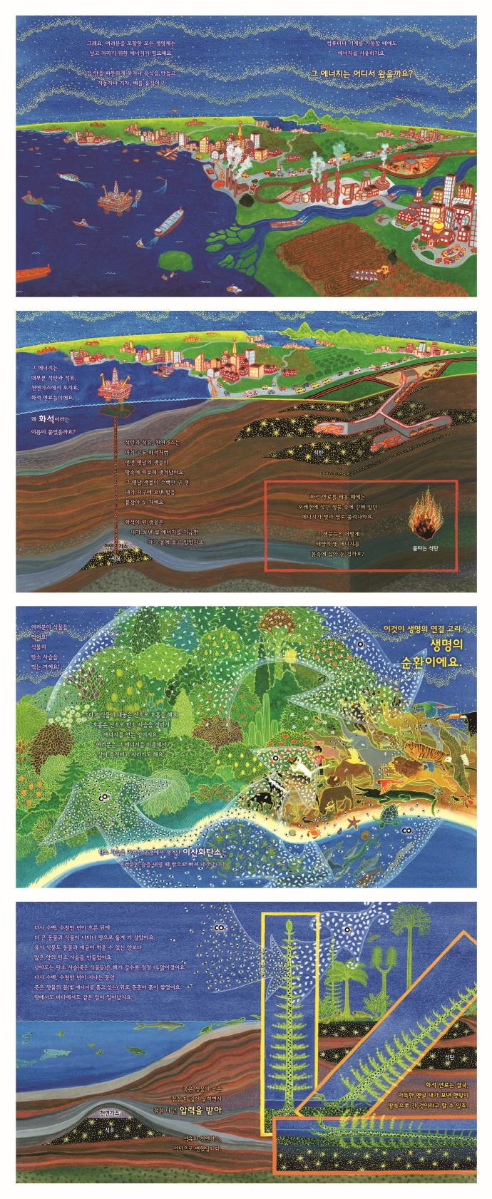 태양이 보낸 화석 에너지(베스트 지식 그림책)(양장본 HardCover) 도서 상세이미지