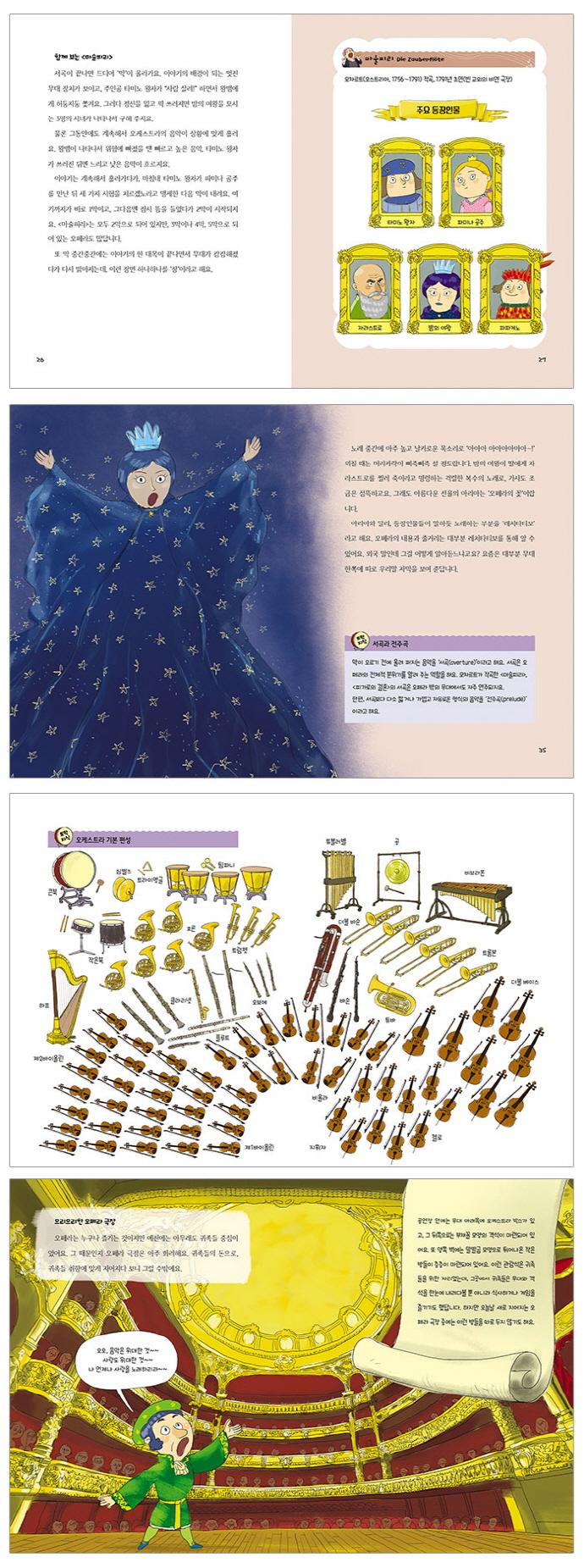 어린이가 꼭 알아야 할 오페라 이야기(풀과바람 지식나무 32) 도서 상세이미지