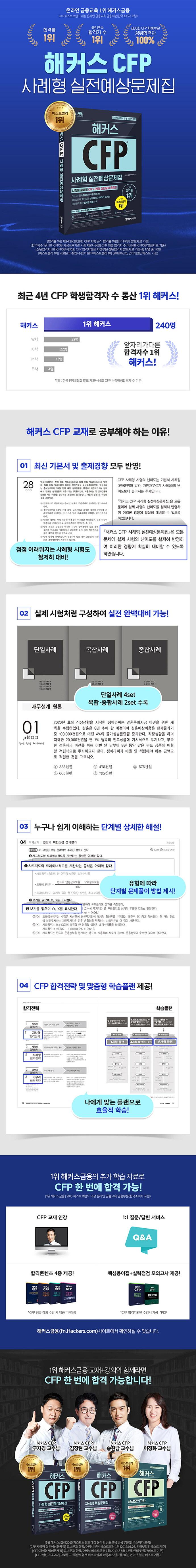 CFP 사례형 실전예상문제집(해커스)(개정판) 도서 상세이미지