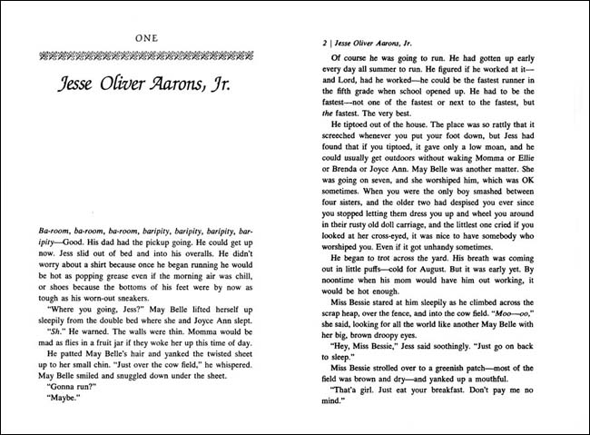 an importance of the setting in katherine patersons book jacob have i loved Bridge to terabithia was also named an ala notable children's book and has become a touchstone of children's literature, as have many of katherine paterson's other novels, including the great gilly hopkins and jacob have i loved.