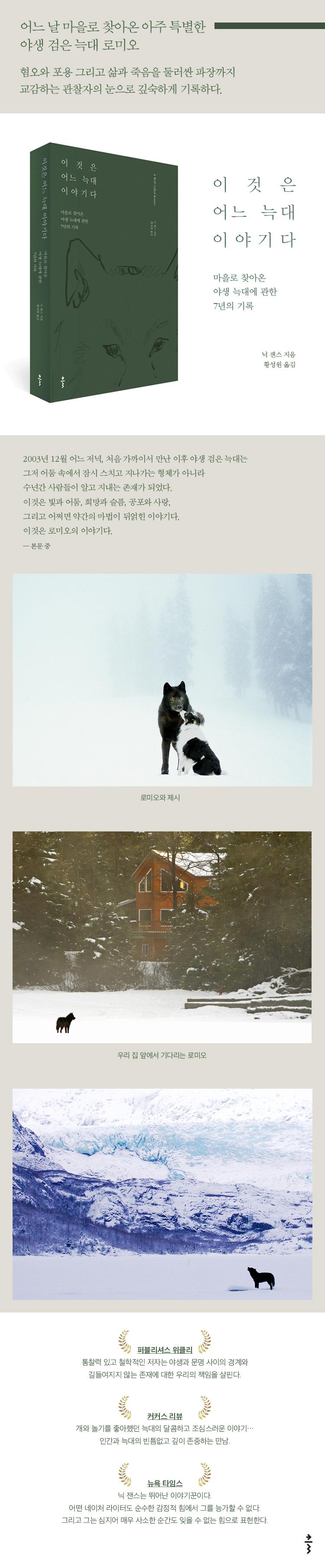 이것은 어느 늑대 이야기다 도서 상세이미지