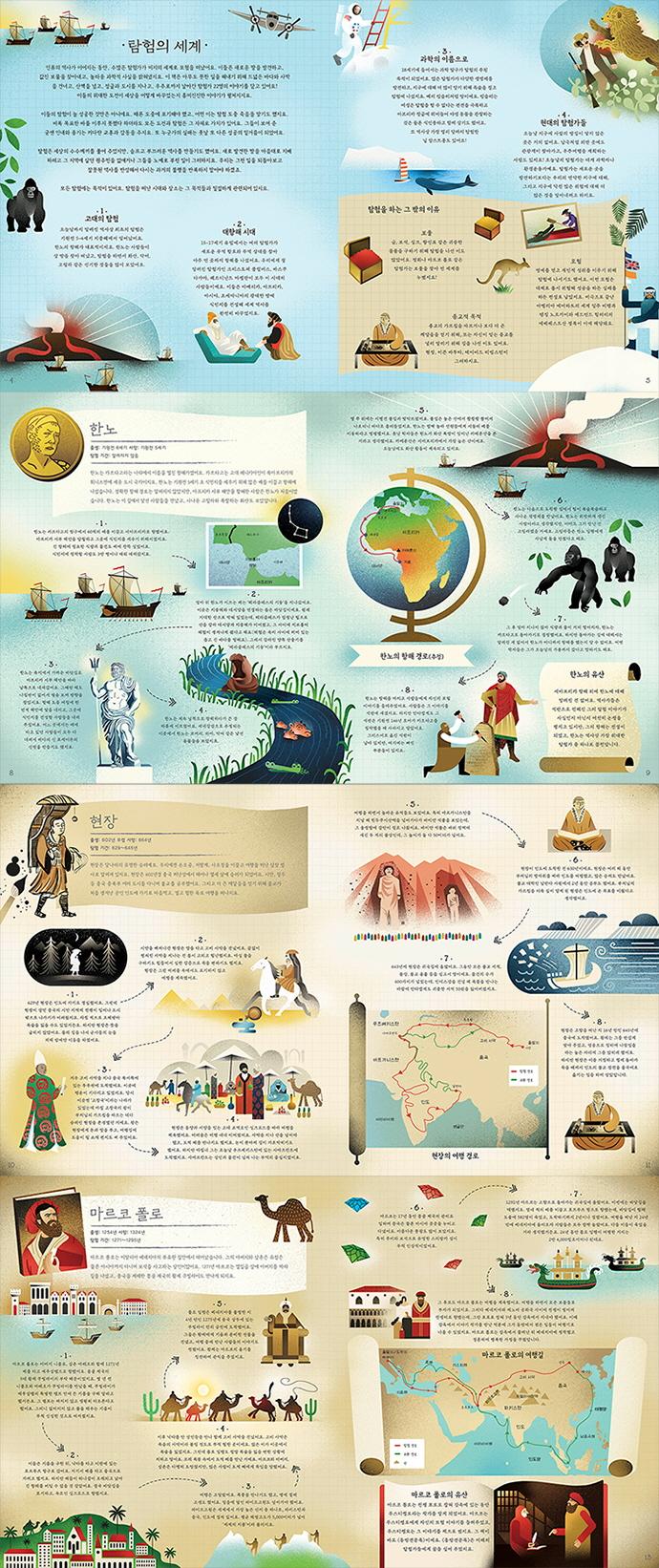 세상을 바꾼 놀라운 탐험가(양장본 HardCover) 도서 상세이미지
